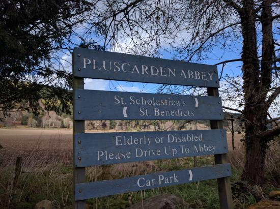Elgin, UK: Pluscarden Abbey