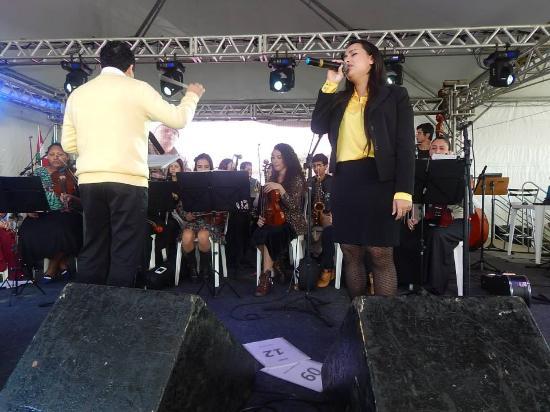 Balneario Rincao, SC: festa da tainha varias atraçoes eu cantando :)