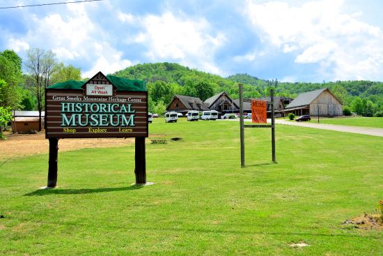 Townsend, TN: Entrance Sign
