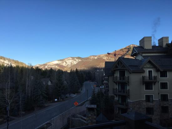 Four Seasons Resort and Residences Vail: I took this photo at 7 am.