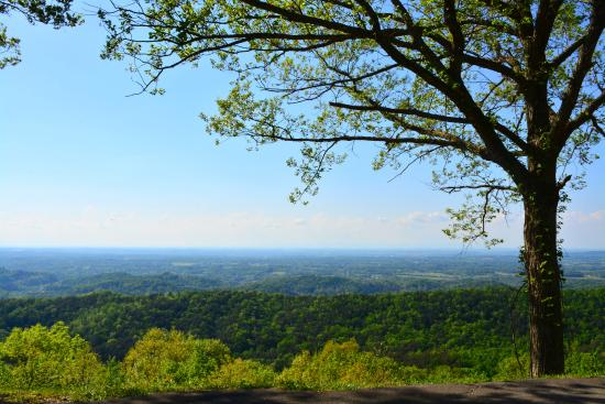 Townsend, TN: View from the Foothills Parkway
