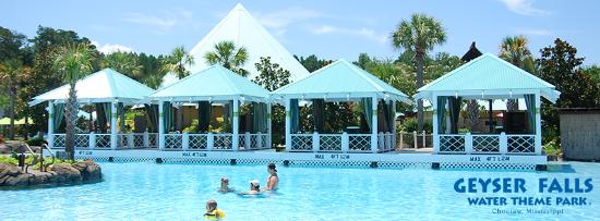 Geyser Falls Cabanas - Picture of Geyser Falls Water Theme Park ...