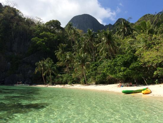 Paradise Beach in Palawan