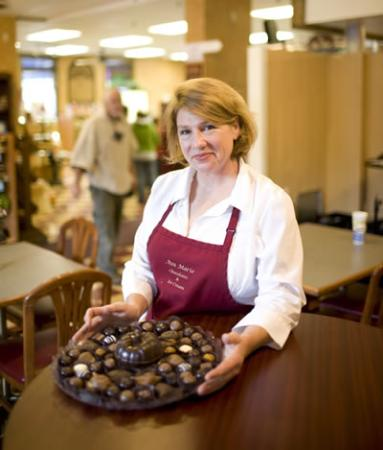 Peterborough, Nueva Hampshire: Ava Marie Handmade Chocolate