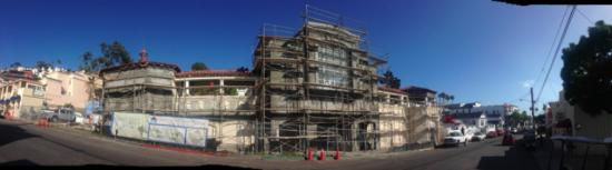 Catalina Island Museum: Current state of the building, rapidly being finished for the June 2016 grand opening.