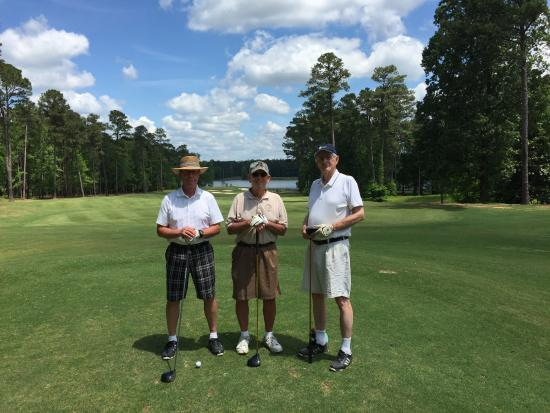 Grand National Golf Course: Rick, Tom & Dave - USMA Class of 1962