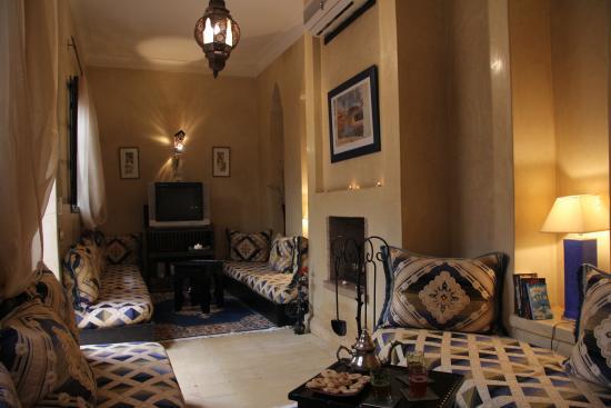 Riad Dar Zinnia: Le salon