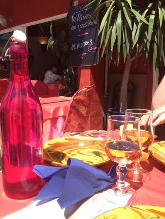 Restaurant Le Piccolo : Les couleurs du soleil sur votre table