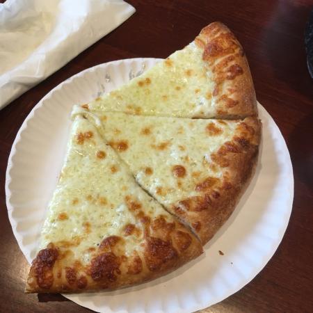 Chelmsford, MA: White Pizza