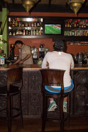 Rio Celeste Hideaway Hotel: Bar for all