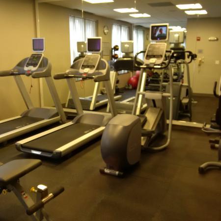 Hanover, Нью-Гэмпшир: Fitness center.