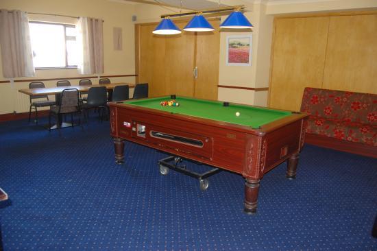 Coolaney, Irlanda: Pool Room