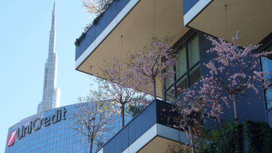 Bosco Verticale: primavera