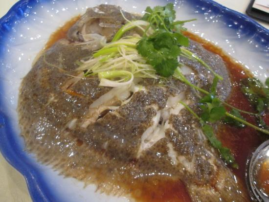 Monterey Park, CA: Steamed Turbot from Fish Tank ($90)