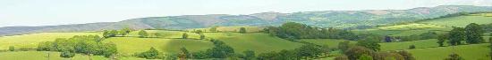 Somerset, UK: Looking overtyhe Hills from Willet