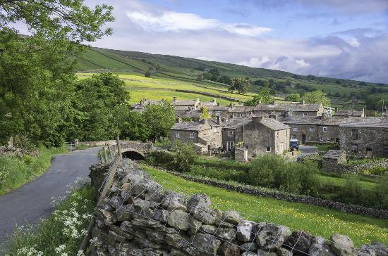 Yorkshire Dales National Park, UK: Another view of the village