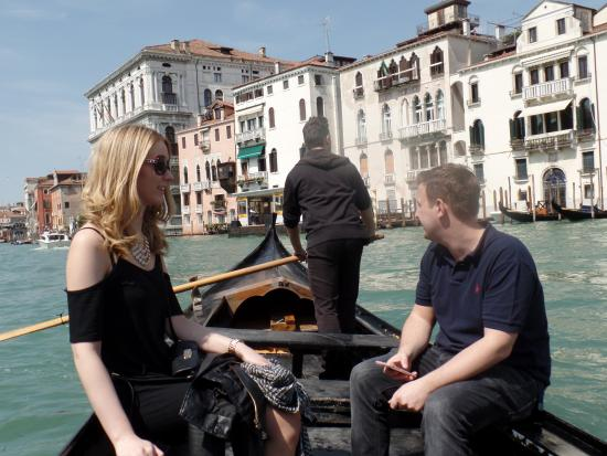 Tour Leader Venice: Crossing the Grand Canal