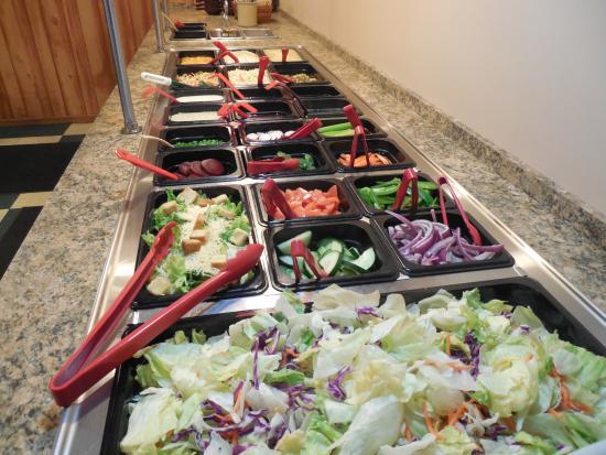 Grecos Good Italian Food: Salad Bar