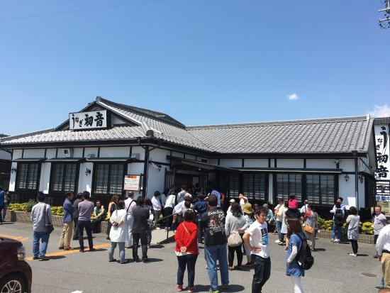 Kameyama, Japan: 竹うなぎ丼