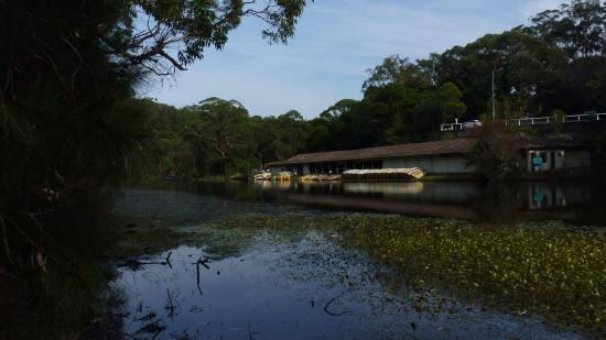 Royal National Park, Australia: Audley Boatshed