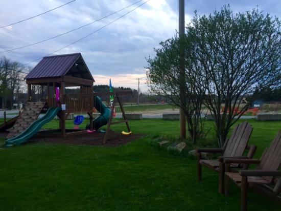 Kane, PA: play area for kids
