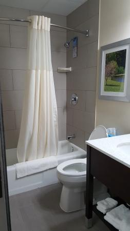 Quality Inn & Suites: Newly Renovated Guest Bathroom.