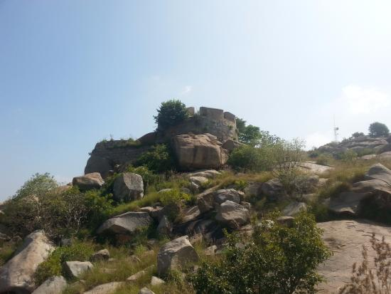 Krishnagiri, India: Fort