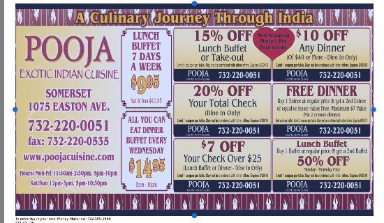 pooja coupons picture of pooja exotic indian cuisine somerset rh tripadvisor com