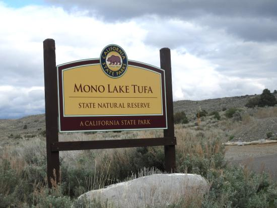 Mona Lake Tufa Reserve, Lee Vining, Ca - Picture of Mono