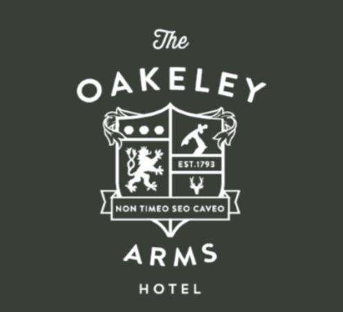Oakeley Arms Hotel: Logo