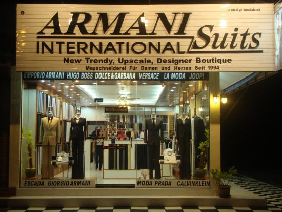 Armani Suits International