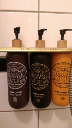 Carlton Guldsmeden - Guldsmeden Hotels: Great eco-friendly toiletries.