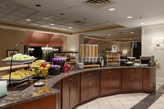 Wayne, Πενσυλβάνια: Breakfast Area