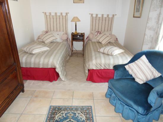 Montepilloy, Francia: Chambre twin la Mara