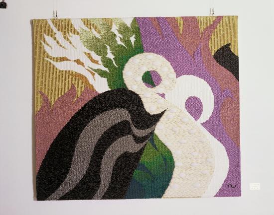 Hotel San Crane: Tapestry