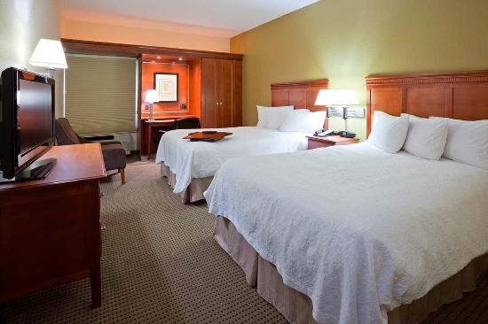 Cedar Rapids, IA: Room with 2 Double Beds