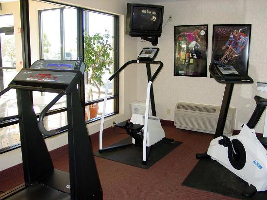 Hampton Inn Lacrosse Onalaska: Fitness Center