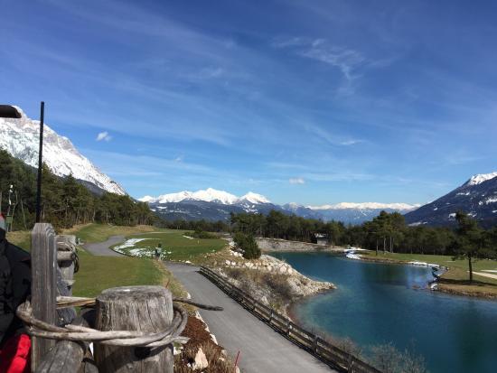 Mieming, Österrike: Blick vom Half-Way Haus