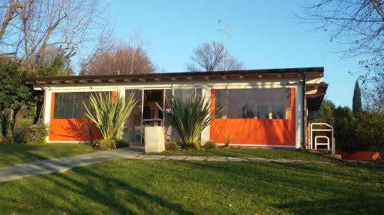Soiano Del Lago, Italië: Hibiscus Cafe