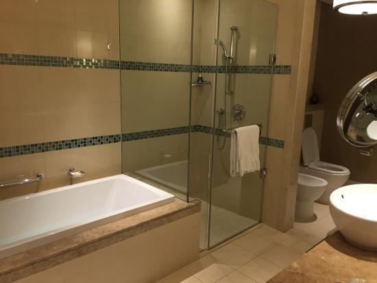 Bagno con doccia e vasca picture of fairmont the palm dubai tripadvisor for Bagno con doccia