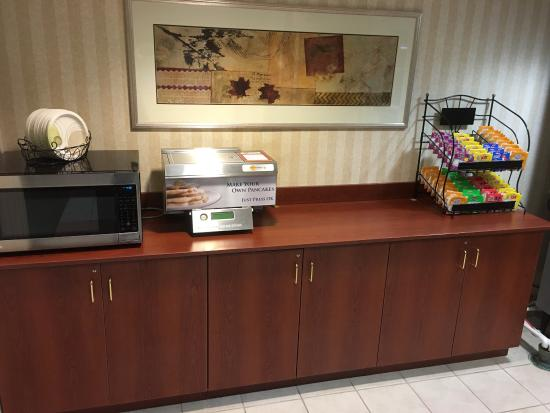 Microtel Inn & Suites by Wyndham Dover: Complimentary Newspaper every day and also home shopping magazines along with 24 hours business