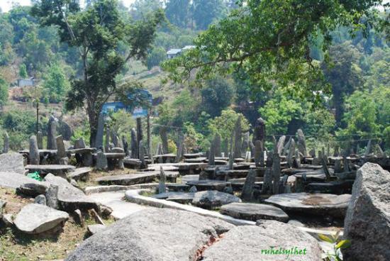 Nartiang Monoliths, Jowai, Meghalaya