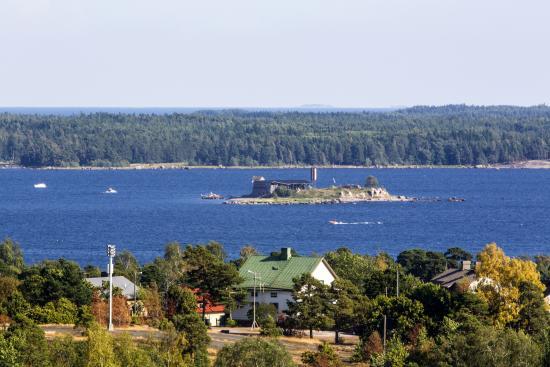 Котка, Финляндия: Форт «Слава», вид со смотровой