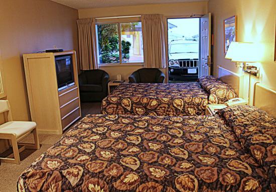 Ocean Shores, WA: Standard Hotel Room