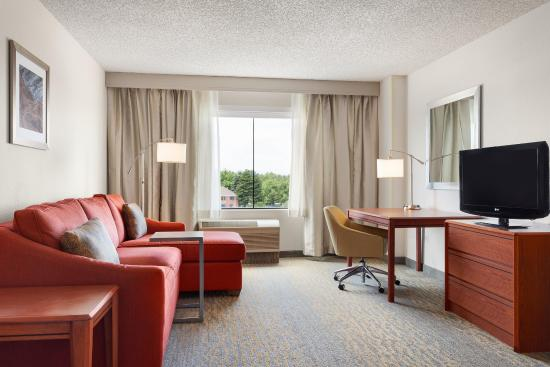 Glendale, Колорадо: 1 King Suite Mountainview