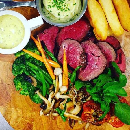 The Wheatsheaf at Bough Beech: Cooked to perfection!