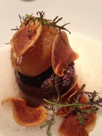 Bel Horizon : Filet de bœuf grillé et pomme de terre fondante