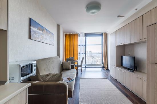 Apart hotel salut saint p tersbourg russie voir for Appart hotel 33