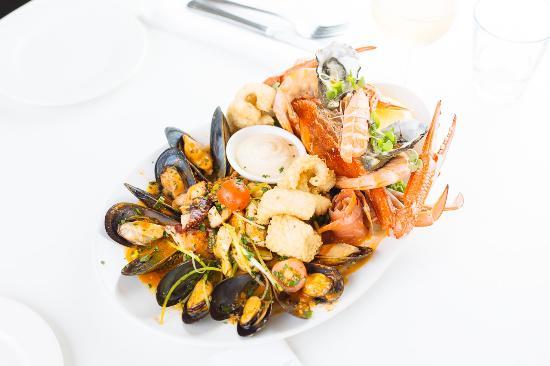 Williamstown, Australia: Pelicans Landing Mixed Seafood Platter