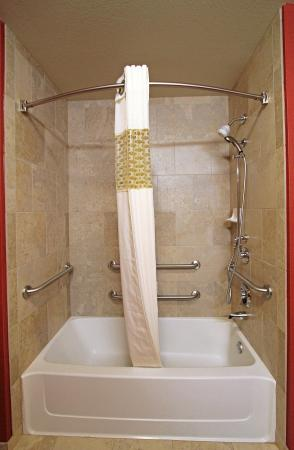 Siloam Springs, AR: Accessible Shower